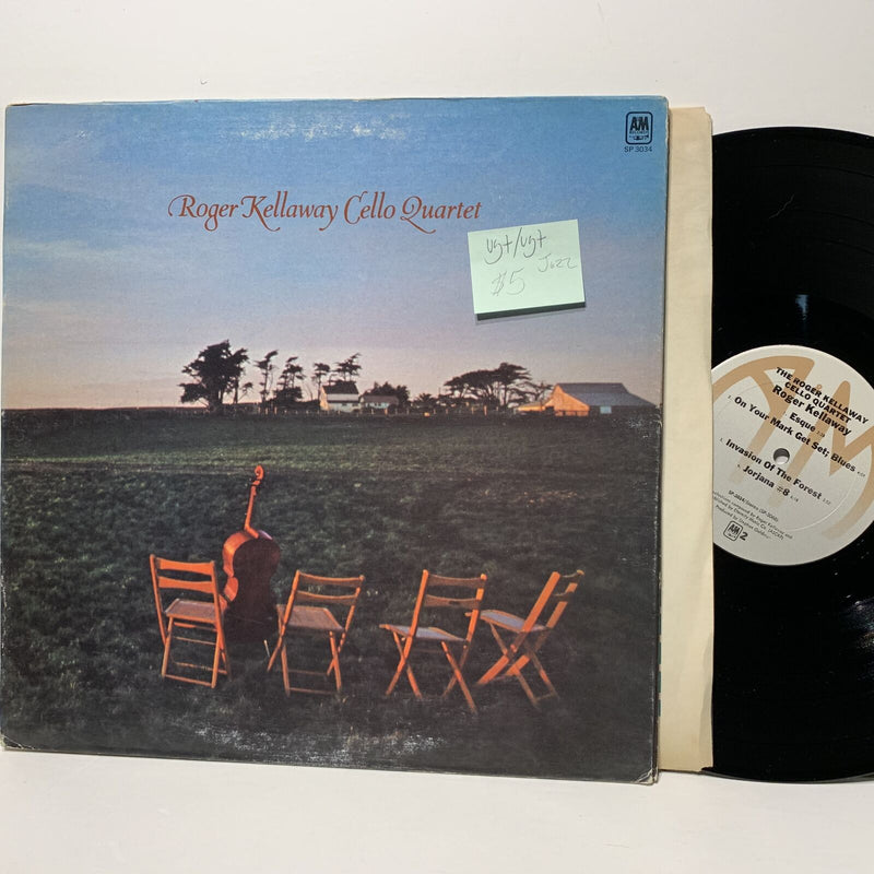 Roger Kellaway Cello Quartet- A&M 3034 VG+/VG+ Jazz LP