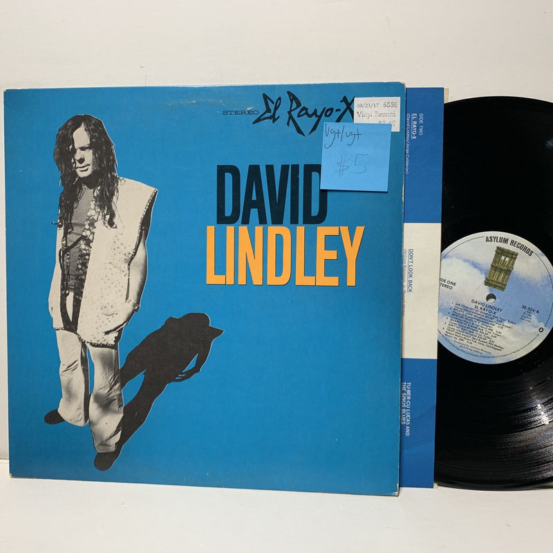 David Lindley El Rayo X Asylum 524 VG+/VG+ Rock LP