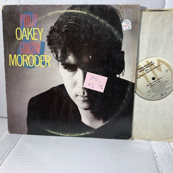 Philip Oakey Giorgio Moroder S/T A&M SP 5080 VG+/VG Synth Pop Record LP