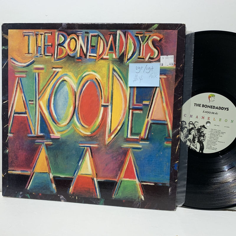 The Bonedaddy's A-Koo-De-A Chameleon 74751 VG+/VG+ Folk LP