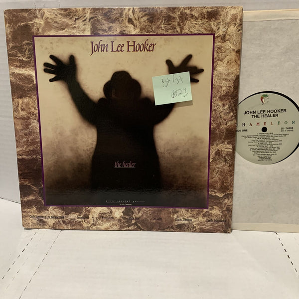 John lee Hooker The Healer- Chameleon D1 74808 VG+/VG+ Blues Record LP