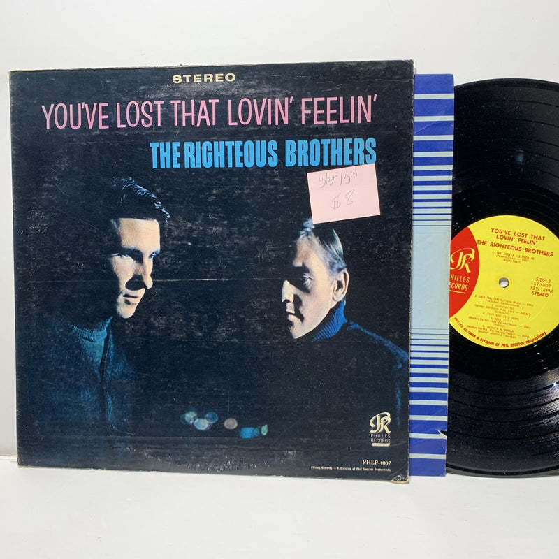 The Righteous Brothers- You've Lost That Lovin Feelin- Philles 4007 VG/VG+-