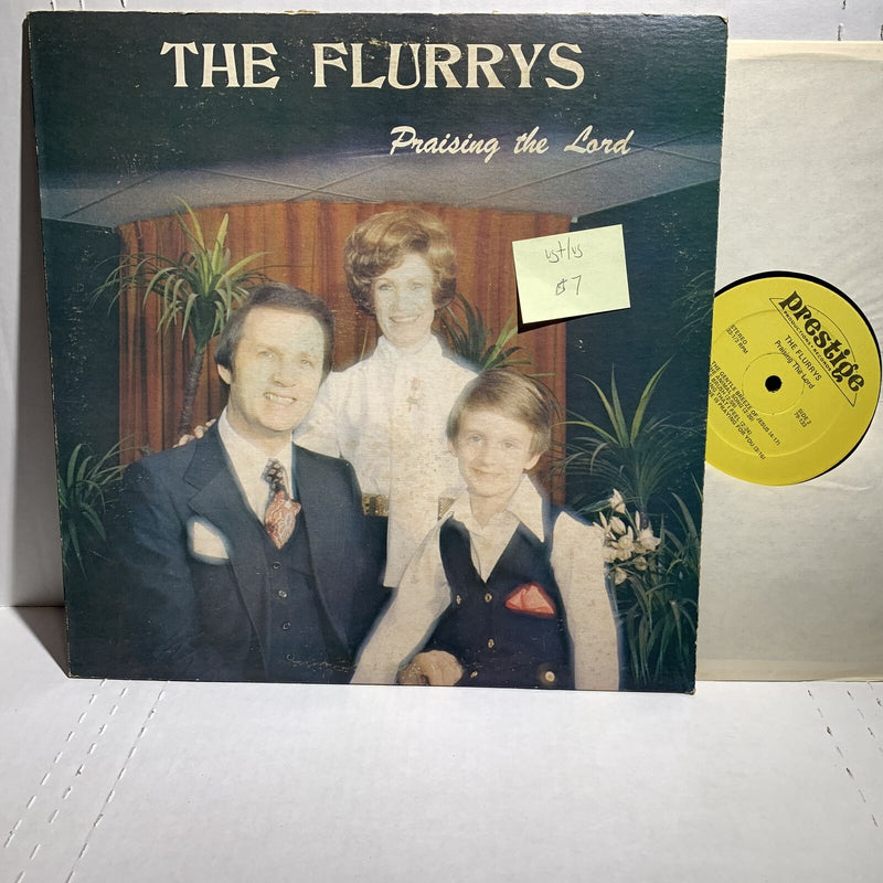 The Flurry's Praising The Lord- Prestige 79 133 VG+/VG Xian Gospel LP