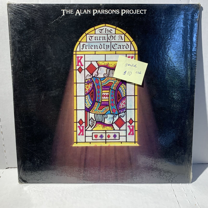 Alan Parsons Project Turn Of A Friendly Card Club Edition SEALED Prog Rock LP