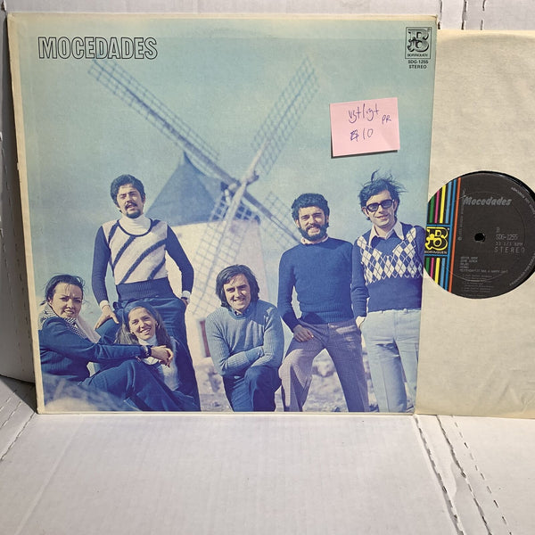 Mocedades S/T- Borinquen 1255 VG+/VG+ Puerto Rico Press Latin Record LP