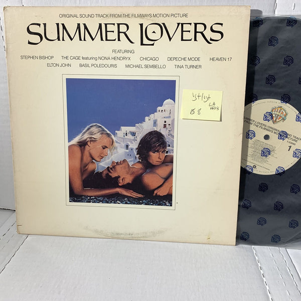 Summer Lovers Original Movie Soundtrack Record LP VG+ LA Press 23695 WB