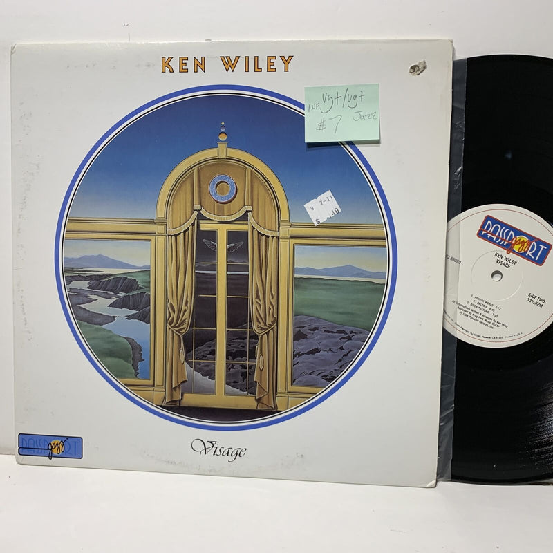 Ken Wiley Visage- Passport Jazz 88020 VG+/VG+ Jazz 1 nonfeelable mark