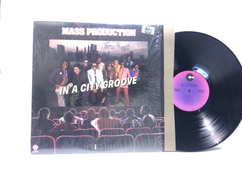 Mass Production- IN A City Groove- Cotillion SD 5233 AR- EX/EX Rare Variant Funk