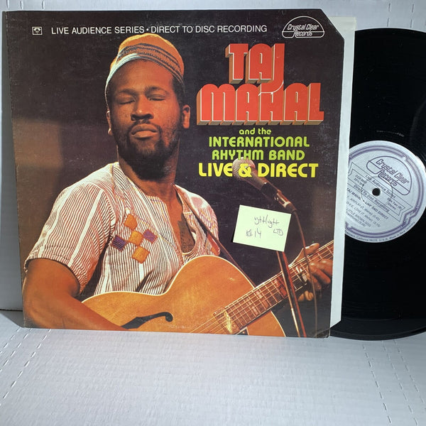 Taj Mahal Live And Direct- Crystal Clear 5011 VG++/VG++ Blues Record LP
