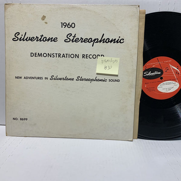 1960 Silvertone Demonstration Record VG+/VG(+) /VG(+) Promo