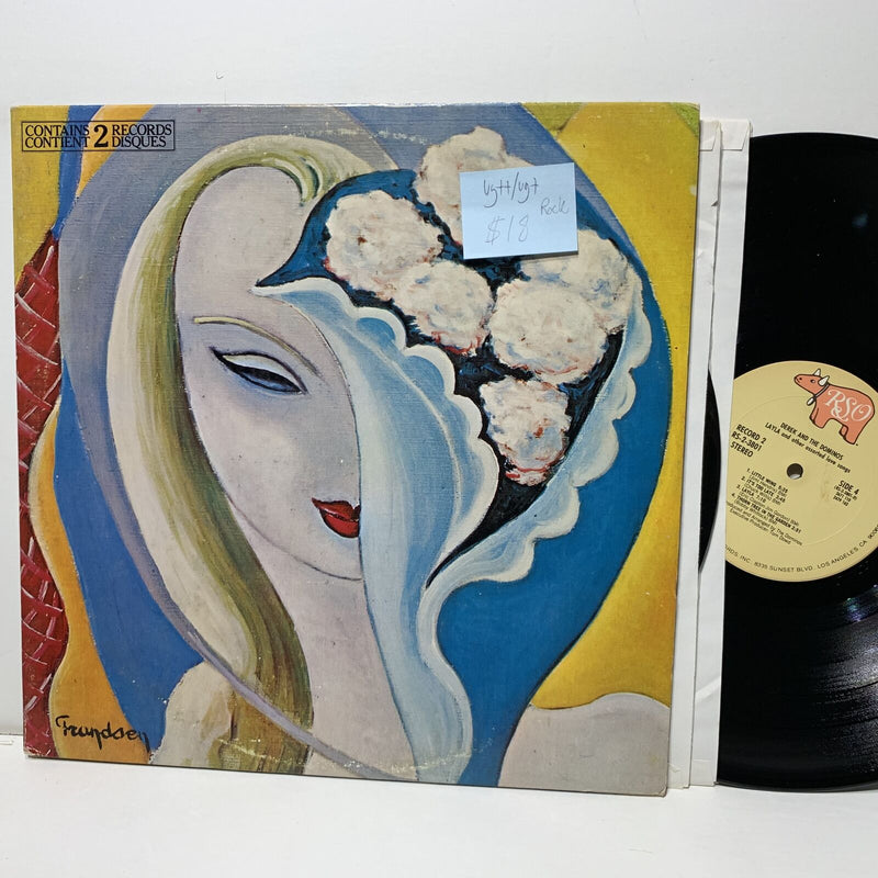 Derek And The Dominos Layla RSO 3801 VG++/VG+ Rock 2LP