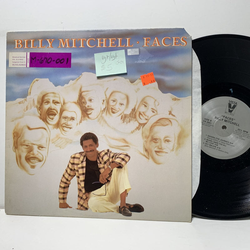 Billy Mitchell Faces- Vista 2501 VG+/VG+ Jazz LP