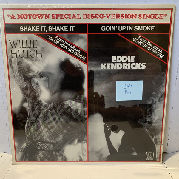 "Willie Hutch Eddie Kendricks Motown Special Disco Single SEALED 12"" Record"