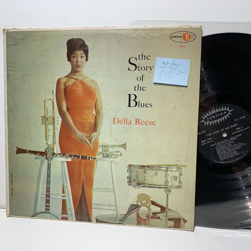 Della Reese Story Of The Blues Jubilee 1095 VG+-/VG+- Jazz
