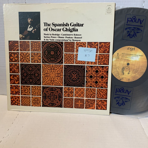 Oscar Ghiglia The Spanish Guitar- Angel S 36849 VG++ Classical Stereo Record LP