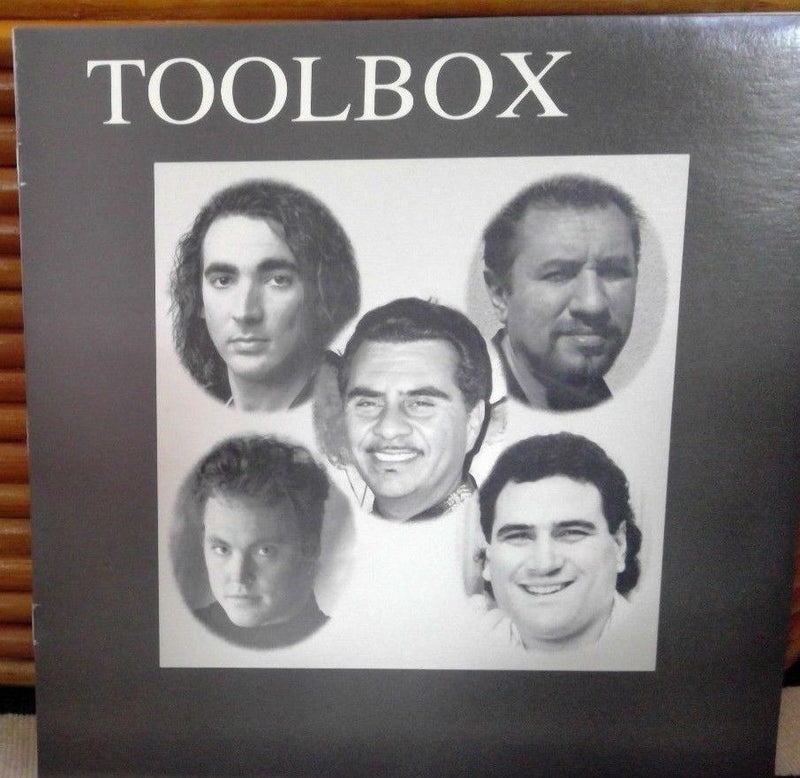 Toolbox- Vital Sound 008- NM-/EX+ Contemporary Latin Jazz Audiophile RARE 1992