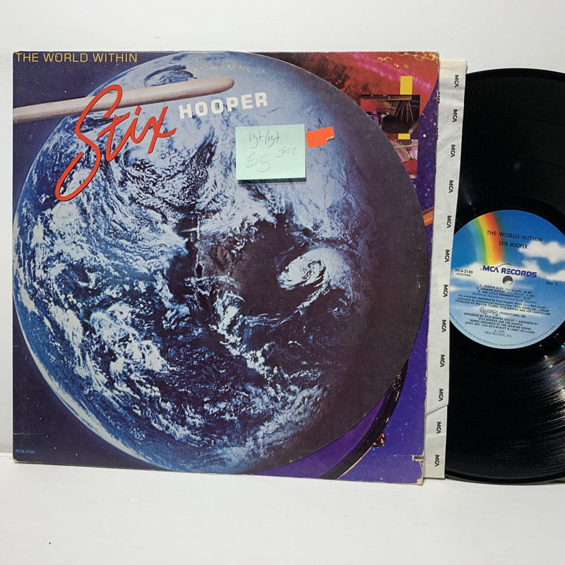 Stix Hooper World Within- MCA 3180 VG+/VG+ Jazz LP