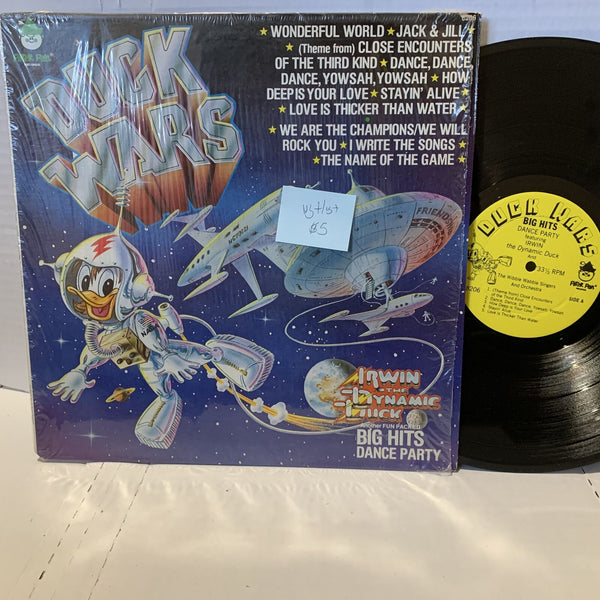 Duck WaRs Dance Party- Peter Pan 8206 VG+/VG+ Kids Novelty Record LP