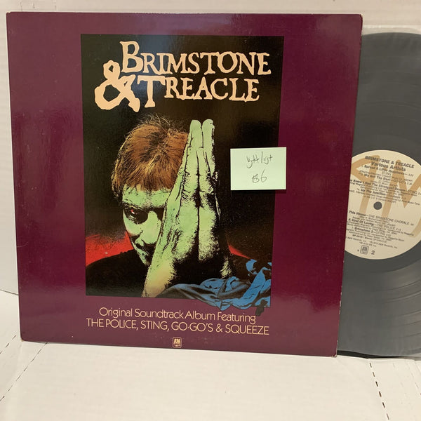Brimstone & Treacle Original Soundtrack- A&M SP 4915 R VG++/VG+ Record