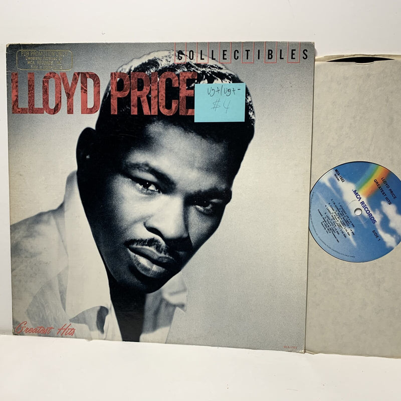 Lloyd Price Collectibles Greatest Hits- MCA 1503 VG+/VG+- Soul LP