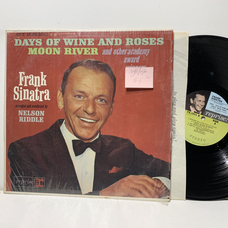 Frank Sinatra Days Of Wine And Roses Moon River- Reprise 1011 VG(+)/VG+ Pop