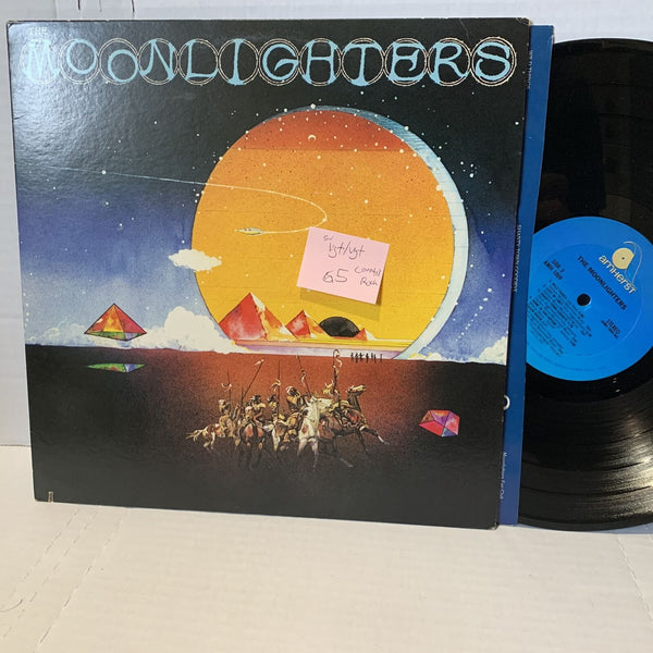 The Moonlighters S/T- Amherst AMH 1009 VG+/VG+ Country Rock Record LP SW