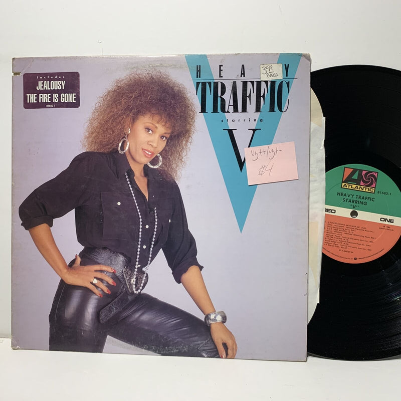 Heavy Traffic Starring V- Atlantic 816821- VG++/VG+- Soul Disco LP