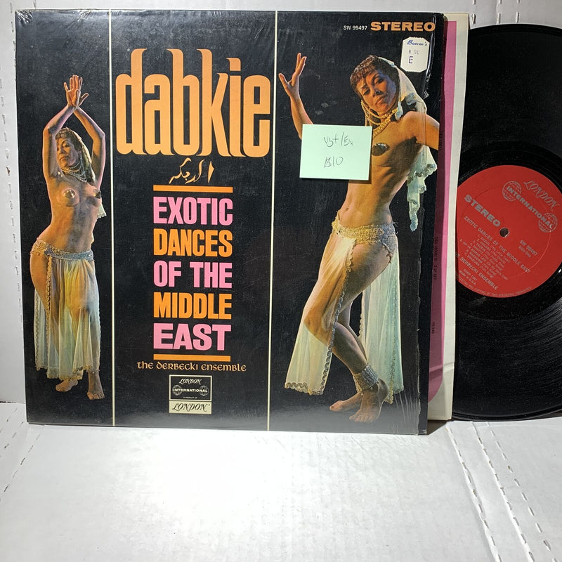 Derbecki Enseble- Dabkie Exotic Dances Of The Middle East- London SW 99497