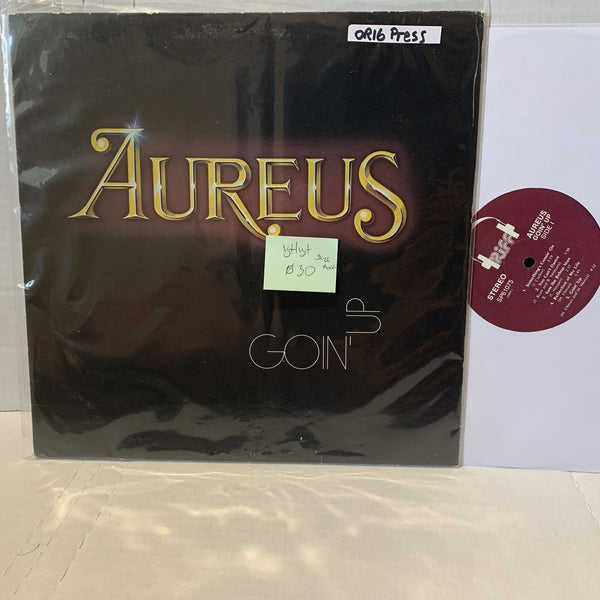 Aureus Goin Up- Riff SP61075 VG+/VG+ Jazz Rock Vinyl Record LP Fusion