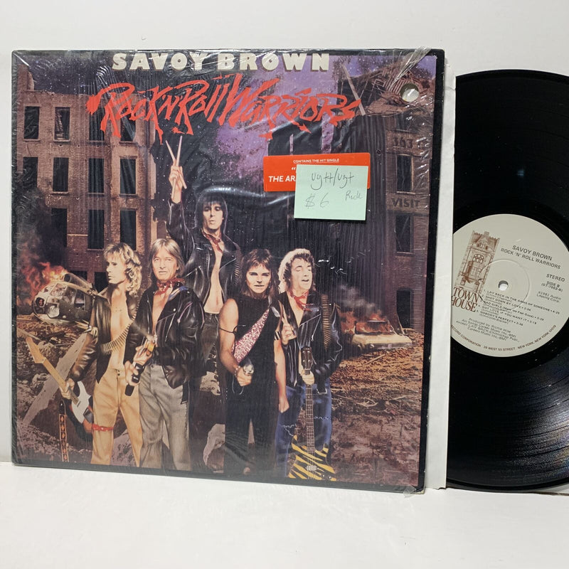 Savoy Brown Rock N Roll Warriors- Town House 7002 VG++/VG+ Rock LP