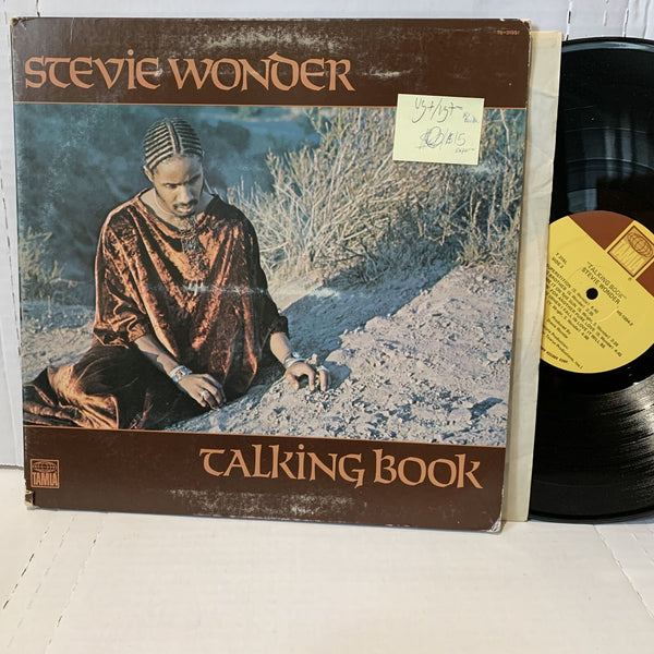 Stevie Wonder Talking Book- Tamla T 319 Mono VG+/VG+- Superior Pressing LP
