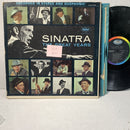 Frank Sinatra The Great Years- Capitol SWCO 1762 VG/VG+ 3LP Vocal Comp
