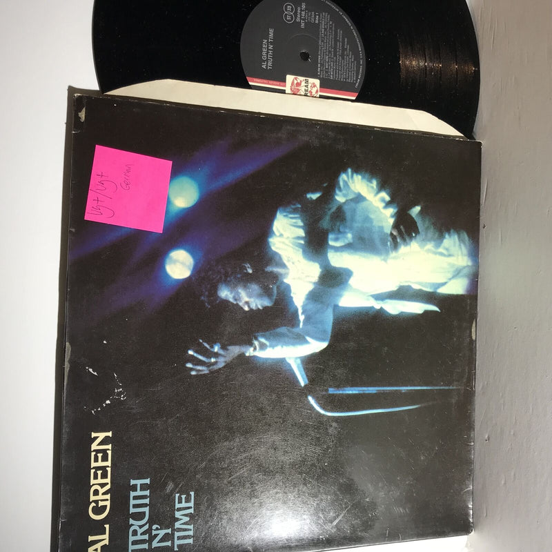 Al Green- Truth N Time- Cream INT 148.105- VG+/VG+ German Press 1978