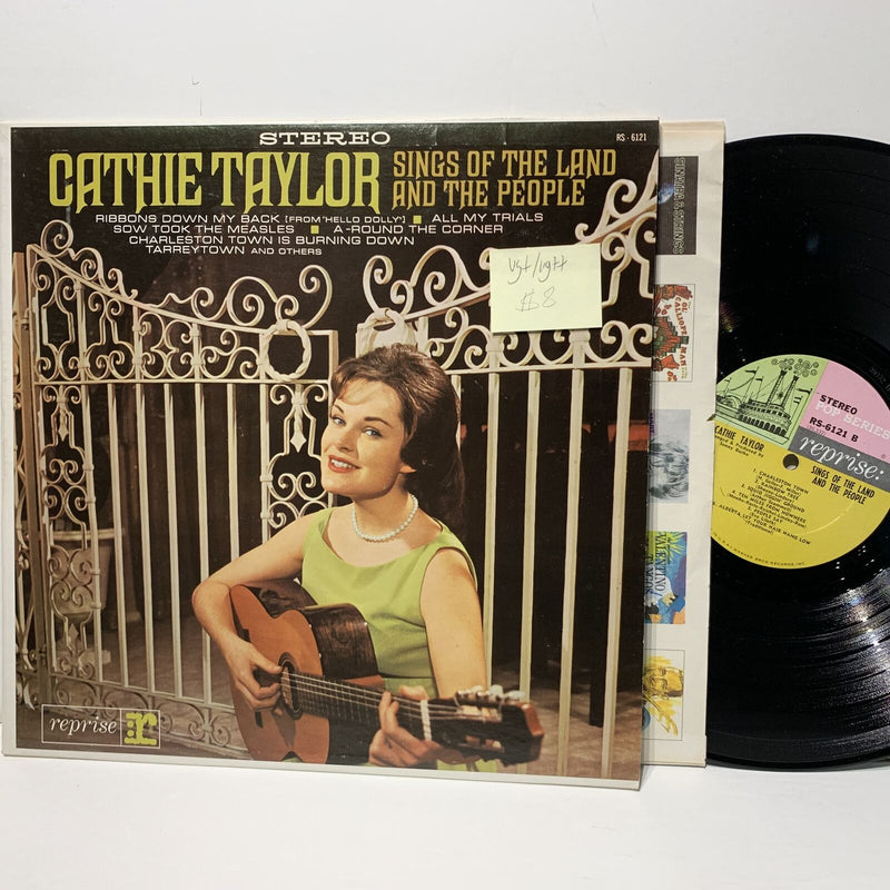 Cathie Taylor Sings Of The Land & The People- Reprise 6121 VG+/VG++
