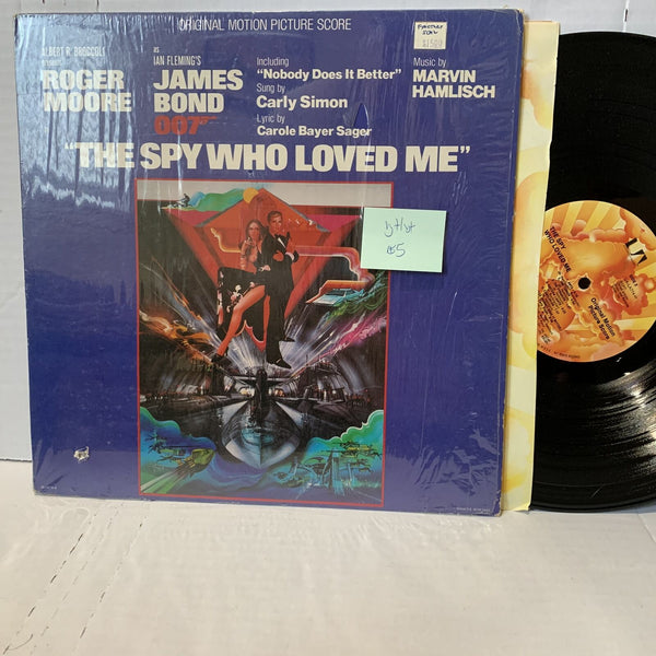 Marvin Hamlisch James Bond The Spy Who Loved Me United Artists Record LP