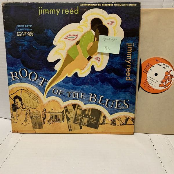Jimmy Reed Root Of The Blues- Kent 537 VG++/VG+- Blues Record 2LP