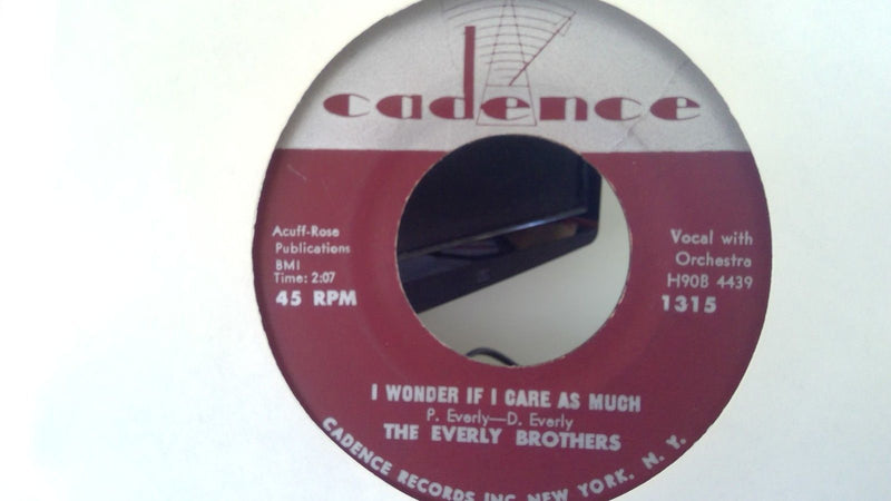 Everly Brothers- Bye Bye Love- Cadence 1315- VG+