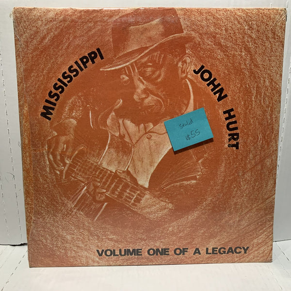 Mississippi John Hurt Volume One Of A Legacy SEALED Blues LP