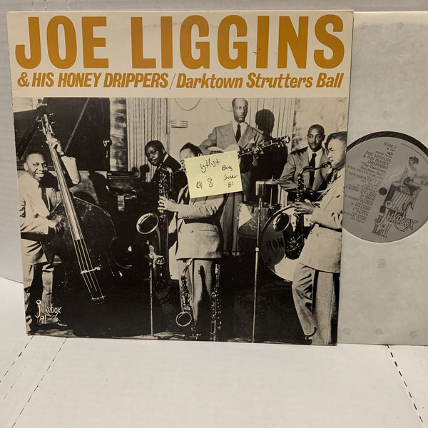 Joe Liggins Honey Drippers Darktown Strutters Ball Jukebox Lil VG+ Blues LP