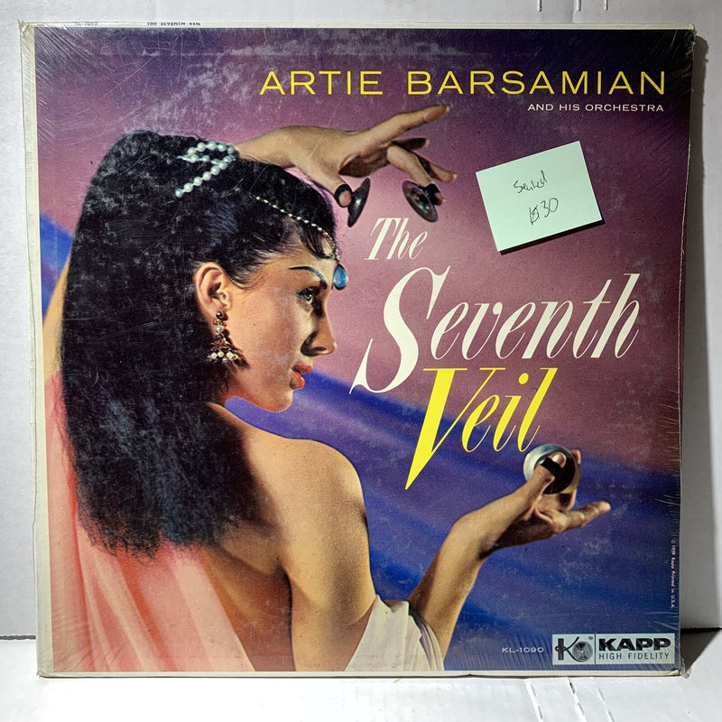 Artie Barsamian The Seventh Veil- Kapp 1090 SEALED Novelty World Record LP