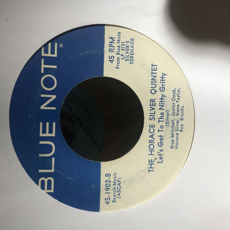 The Horace Silver Quintet- Silver's Serenade- Blue Note 45-1902- VG/VG+