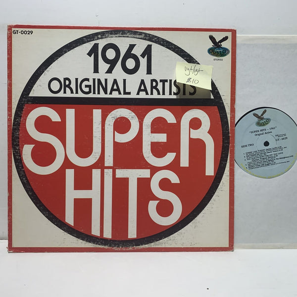 1961 Super Hits Gusto 0029 Rock Soul Comp VG+/VG+-