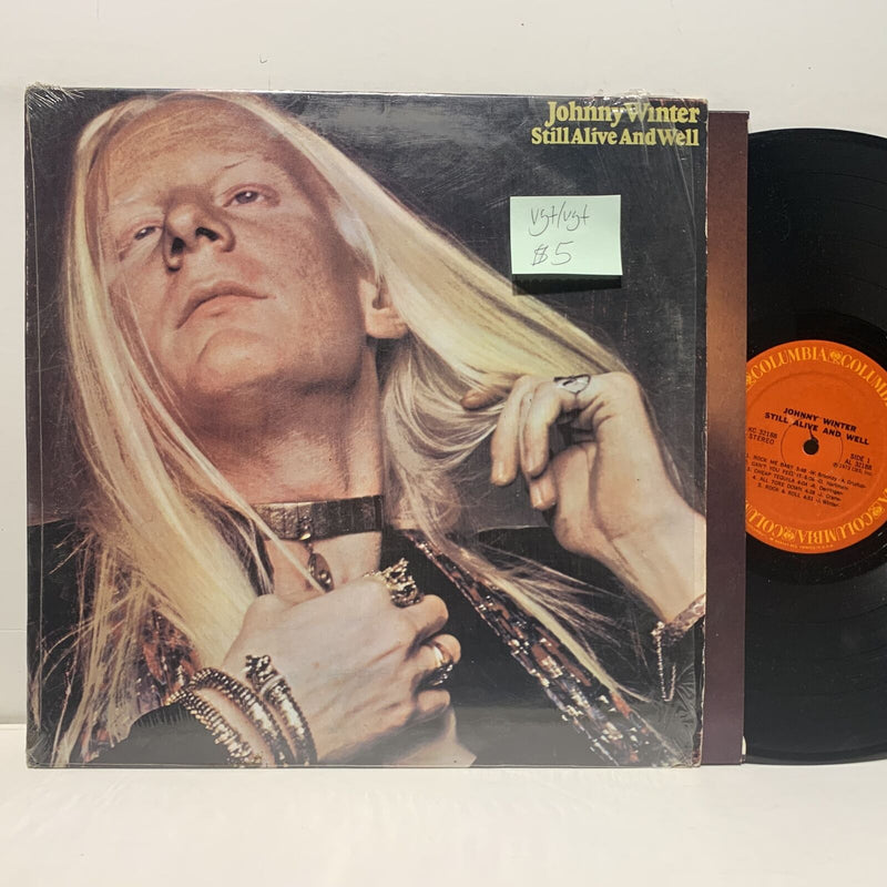 Johnny Winter Still Alive And Well- Columbia KC 32188 VG+/VG+