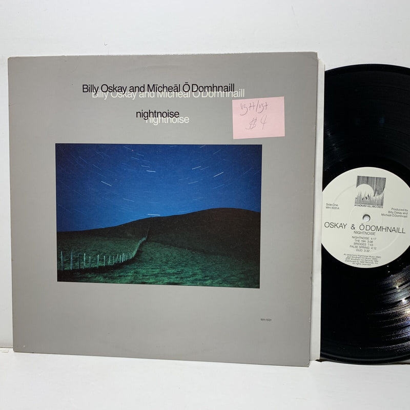 Billy Oskay Michael O Domhnaill Nightnoise- Windham Hill 1031 VG++/VG+