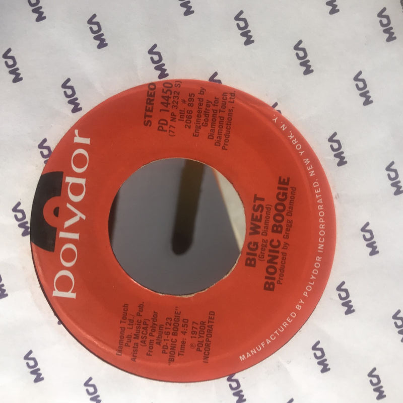 Bionic Boogie- Risky Changes/Big West- Polydor PD 14450- EX
