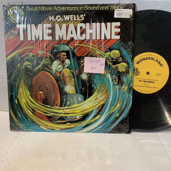 Wonderland H.G. Wells Time Machine- LP 288 VG+/VG++ Radioplay Vinyl Record