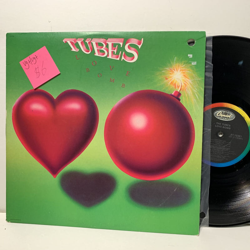 The Tubes Love Bomb Capitol 12381 VG+/VG+ New Wave LP