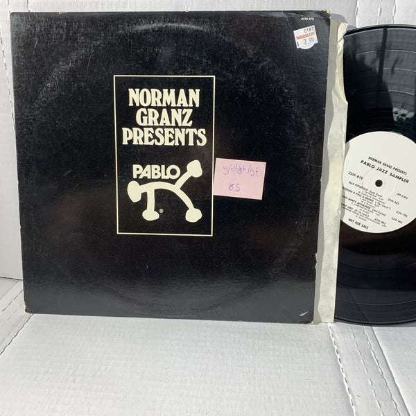 Norman Granz Presents Pablo 2310 078 VG(+)/VG+ /VG+ Jazz Record LP Comp