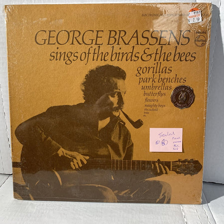 George Brassens Sings Birds Bees Philips PCC 618 SEALED French Chansons RARE