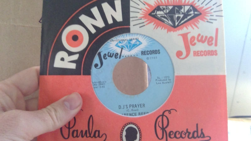 Clarence Reed- DJ's Prayer/ To Far To Turn Around- Jewel 129 Gospel Soul 45
